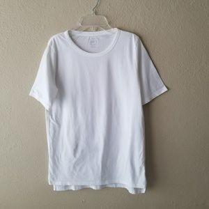 GAP Tops - GAP Vintage White Hi Lo Tee Shirt